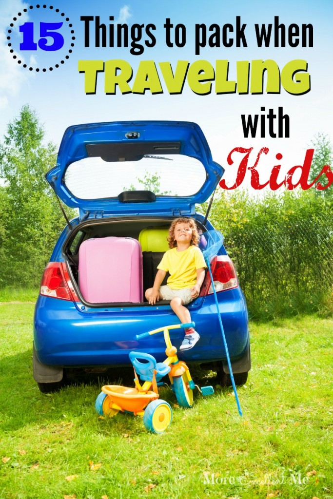 15 things to pack traveling with kids