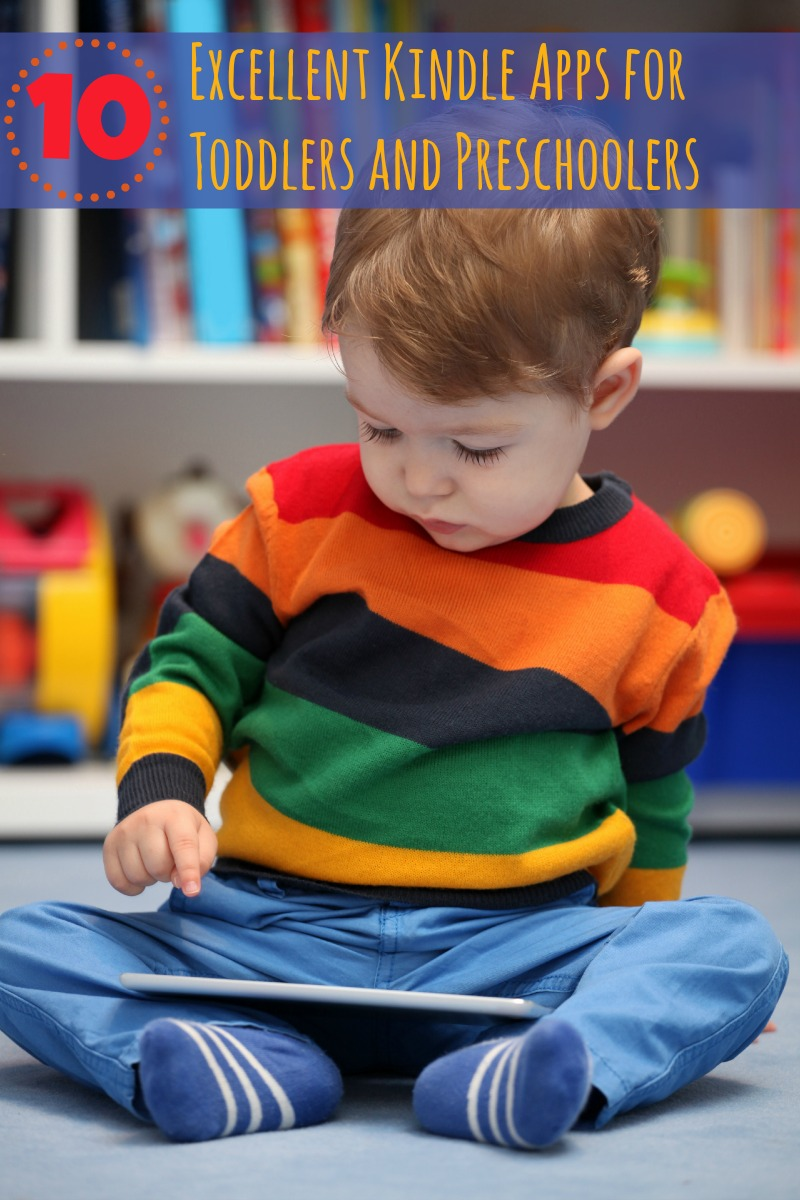 kindle apps for preschoolers