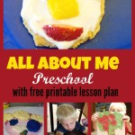 All About Me Preschool Week