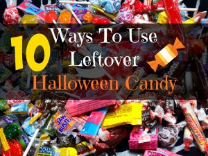10 uses for halloween candy