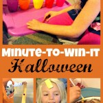 Minute-To-Win-It Halloween Candy Game Night