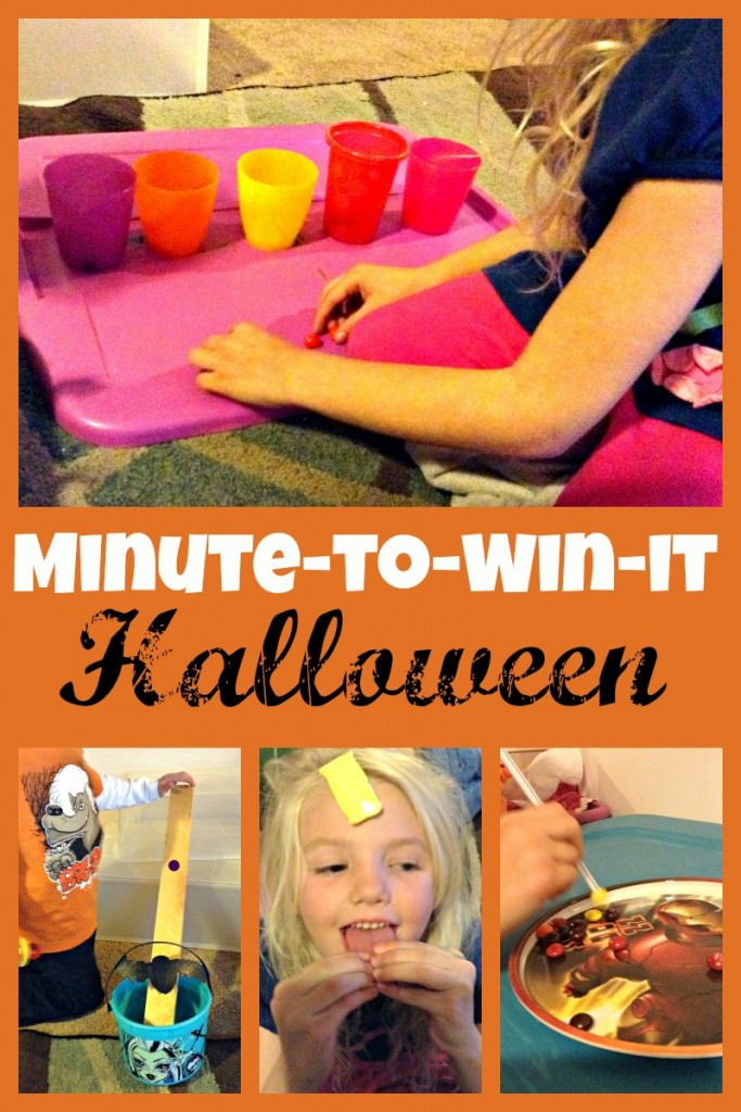 minute to win it halloween candy