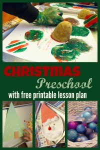 christmas preschool week