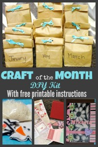 DIY craft of the month kit