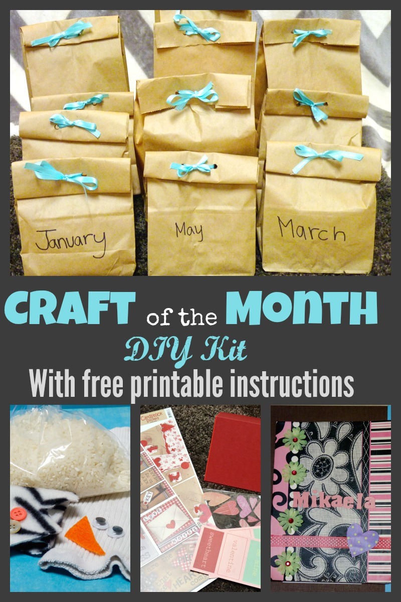 DIY Kids Craft Subscription Kit  More Excellent Me