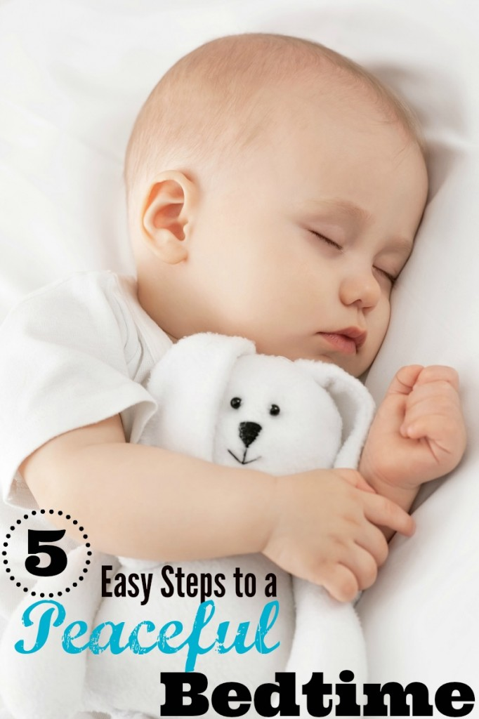 5 steps to a peaceful bedtime