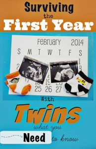 Survival Guide For Twins 1st Year