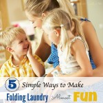 5 Ways To Make Folding Laundry Almost Fun