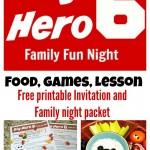 Big Hero 6 Family Fun Night