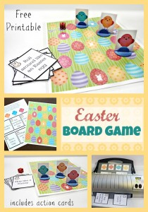Fun Printable Easter Board Game