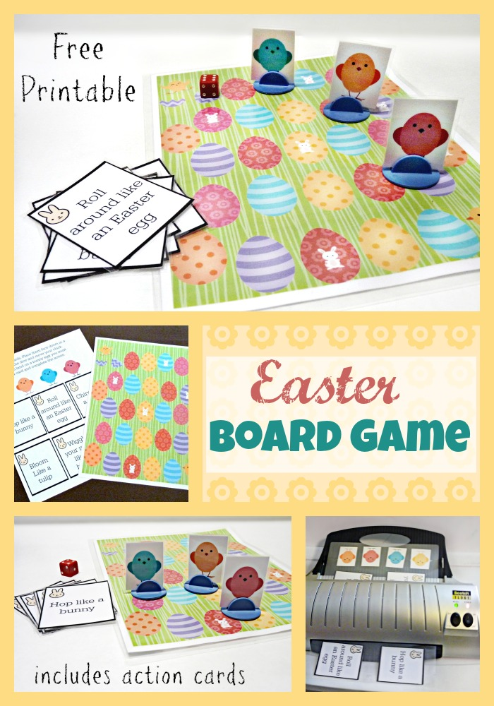 Fun Printable Easter Board Game More Excellent Me