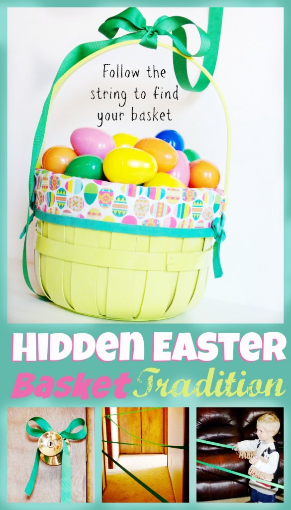 Hidden Easter Basket Tradition