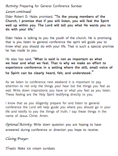page 2 general conference fhe