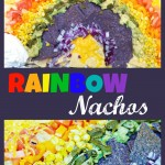 Colorful and Delicious Rainbow Nachos