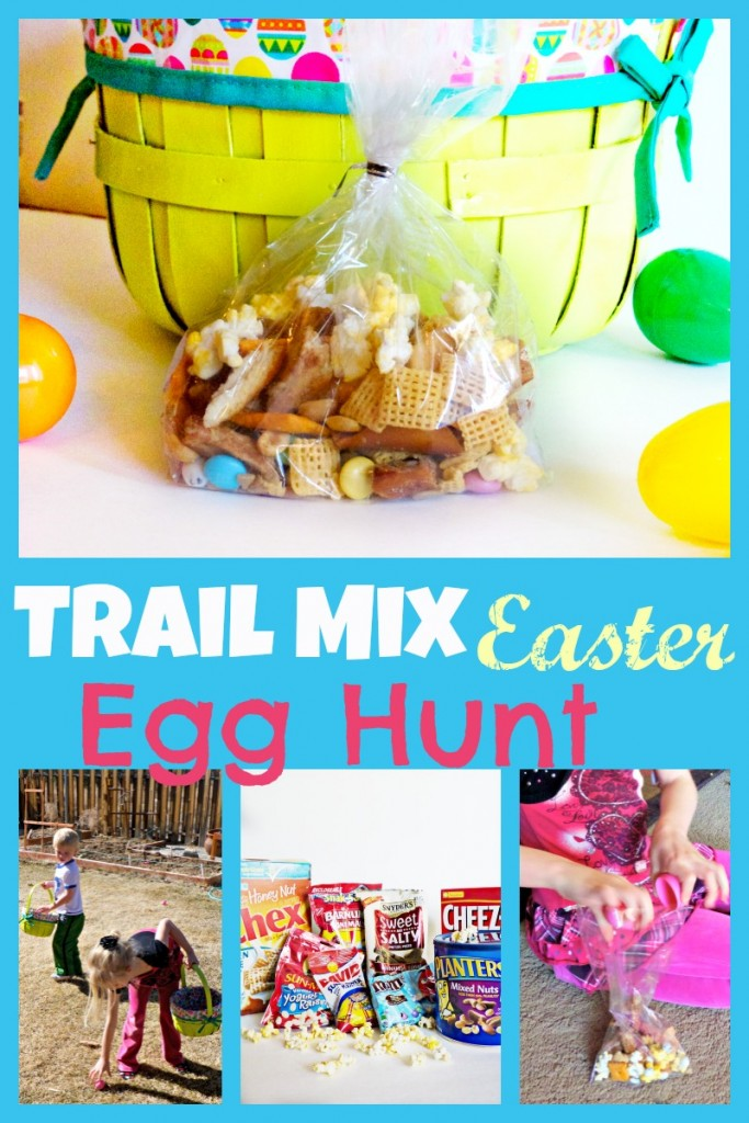 trail mix egg hunt