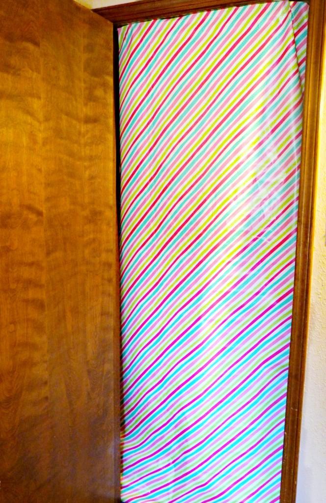wrapped doorway