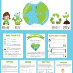 Fun and Educational Earth Day Pack for Kids