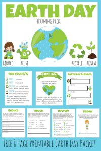 Earth Day Learning Packet Picture