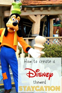 How to create a fun and easy disneyland themed stay cation