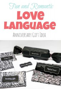 Love Languages Anniversary Gift