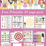 Princess Early Learning Packet