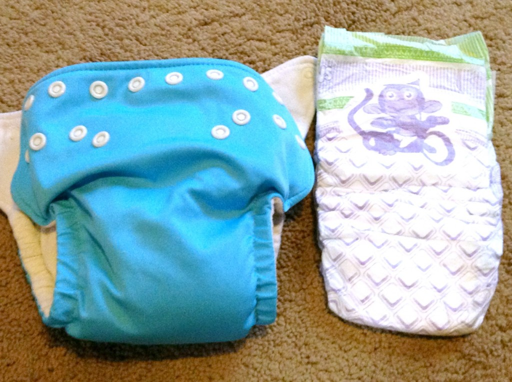 reusable and disposable diapers
