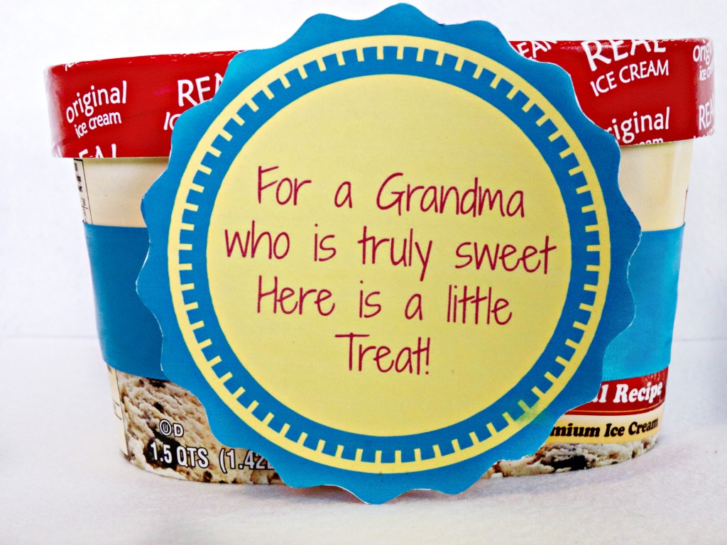 grandma ice cream gift