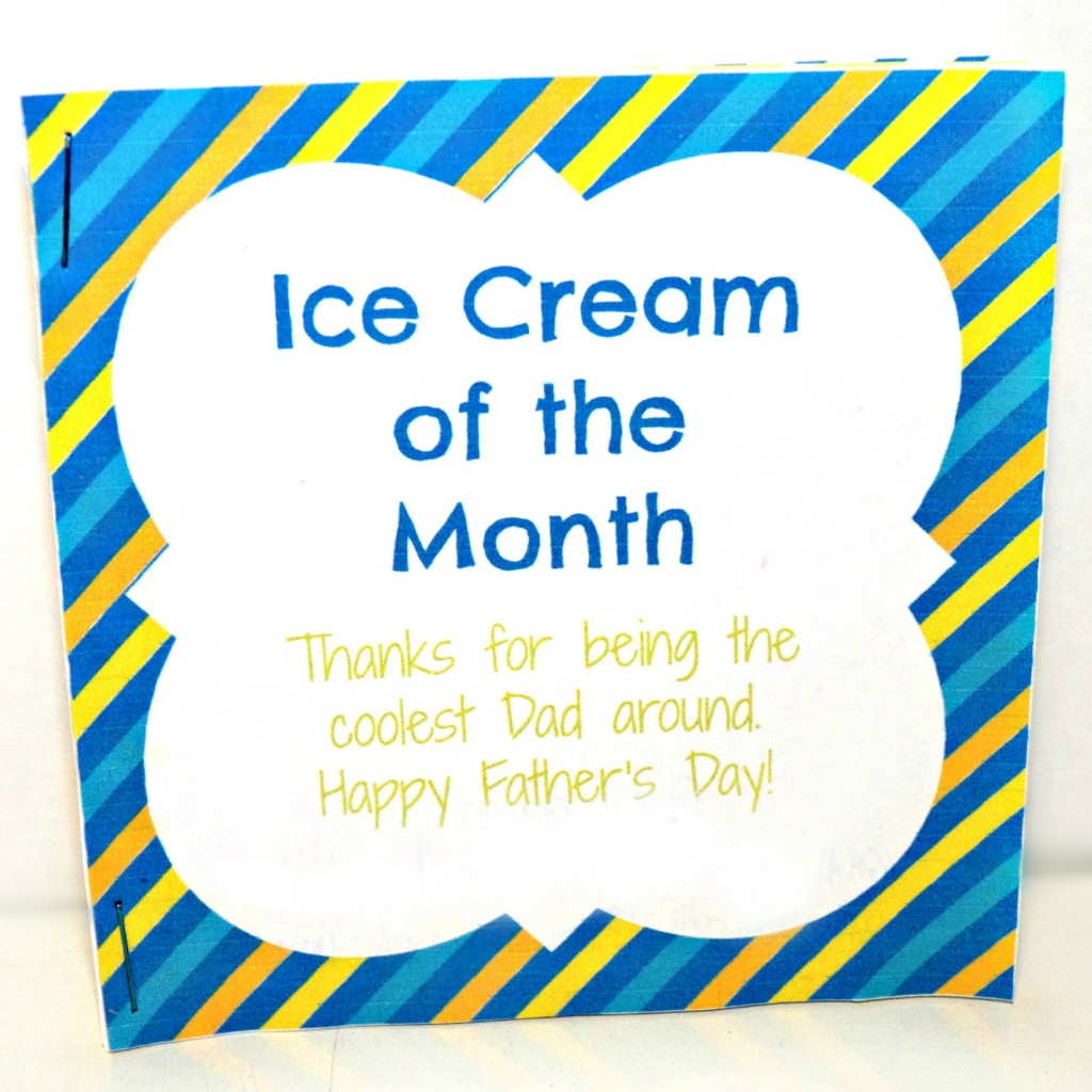 ice cream of the month coupon book