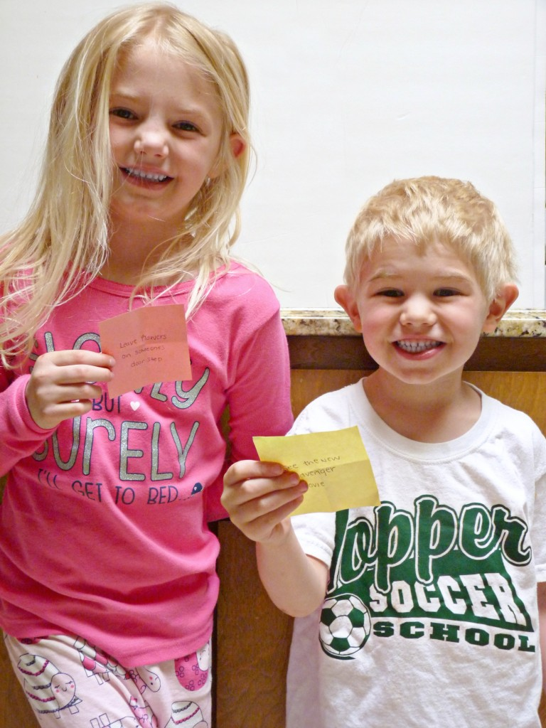 kids with their someday picks