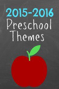2015 Preschool Themes