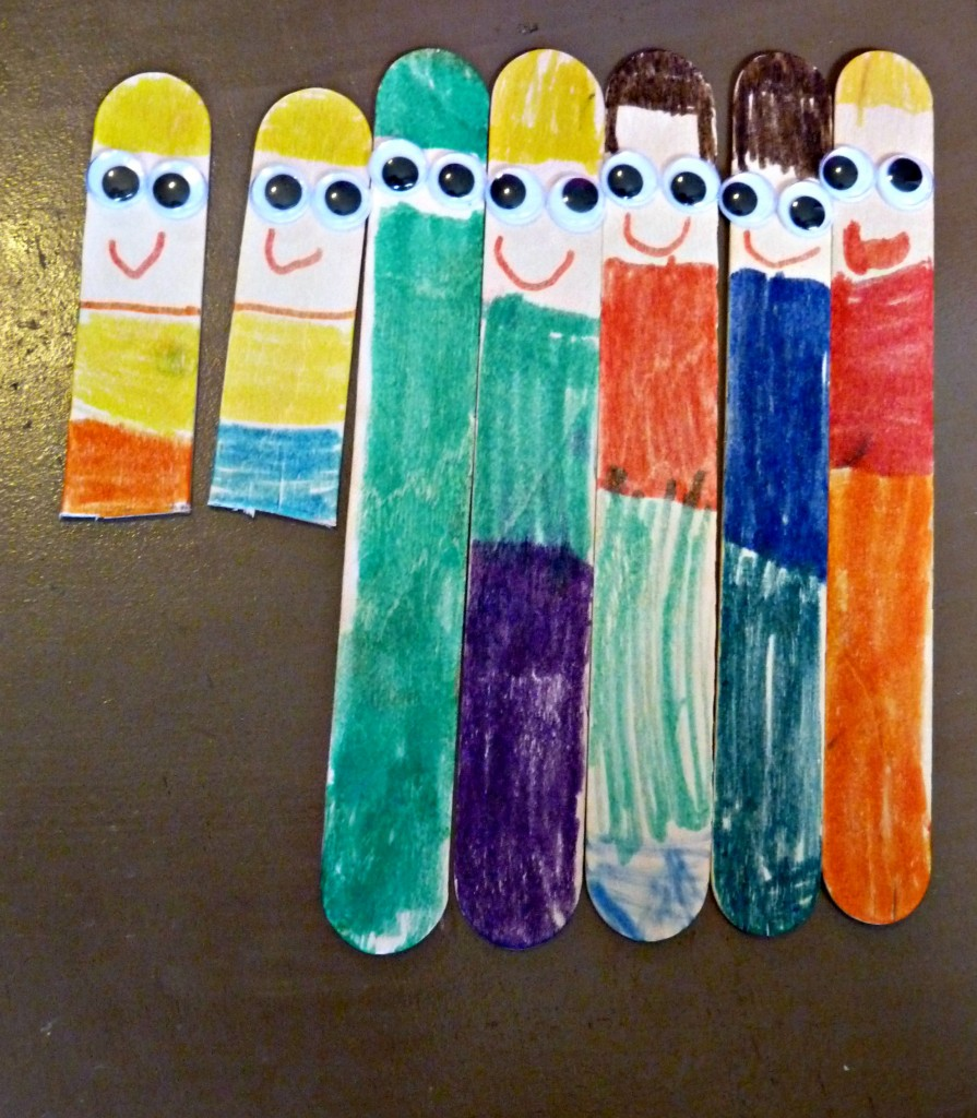 popsicle stick family