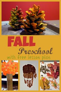 Fall Preschool Theme