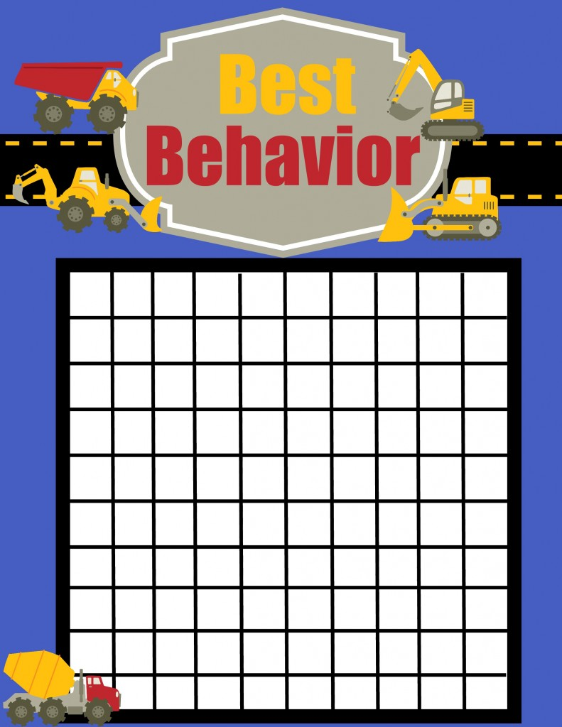 behavior chart construction