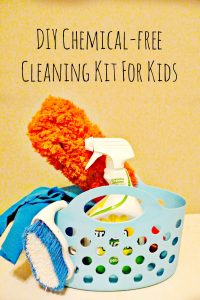 DIY Chemical-free Cleaning Kit For Kids