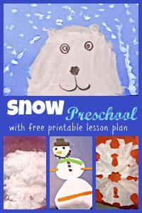Snow Preschool Week