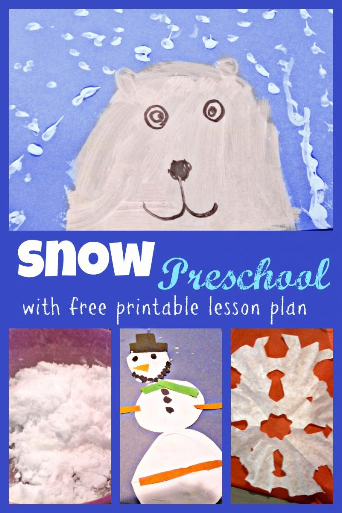Snow Preschool Week