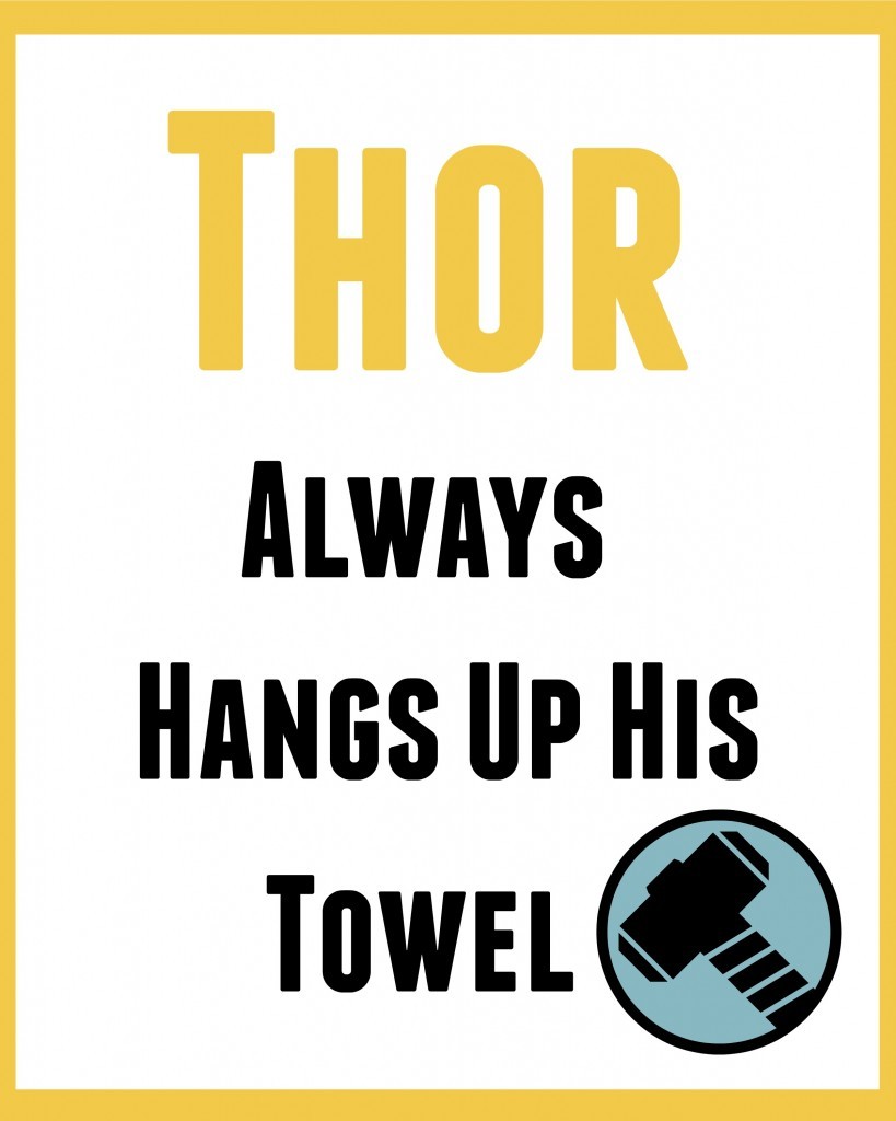 thor bathroom art 2