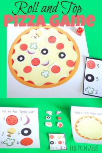 Roll and Top Pizza Game