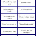 My Home Seek and Find Gross Motor Activity