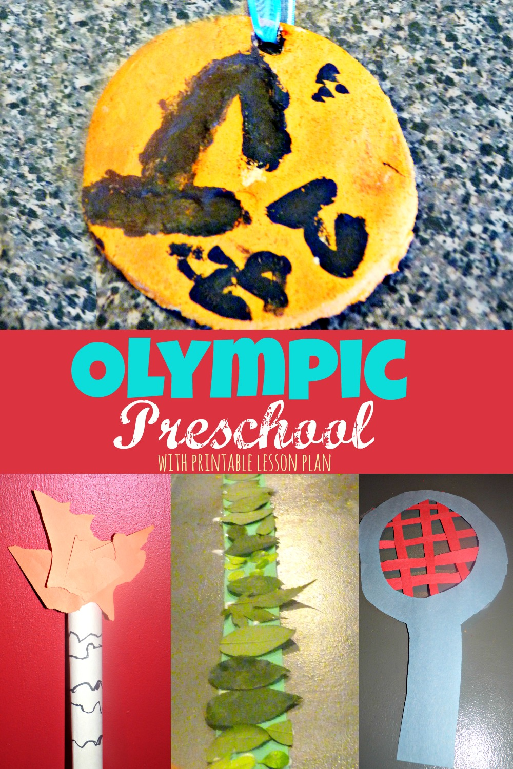 Olympic themed preschool week