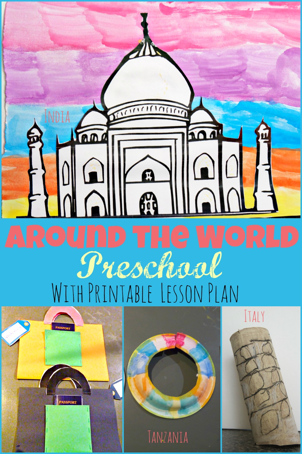 around the world preschool