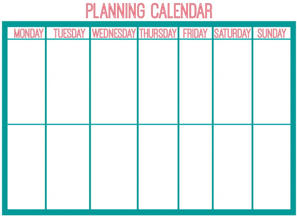 planning calendar picture