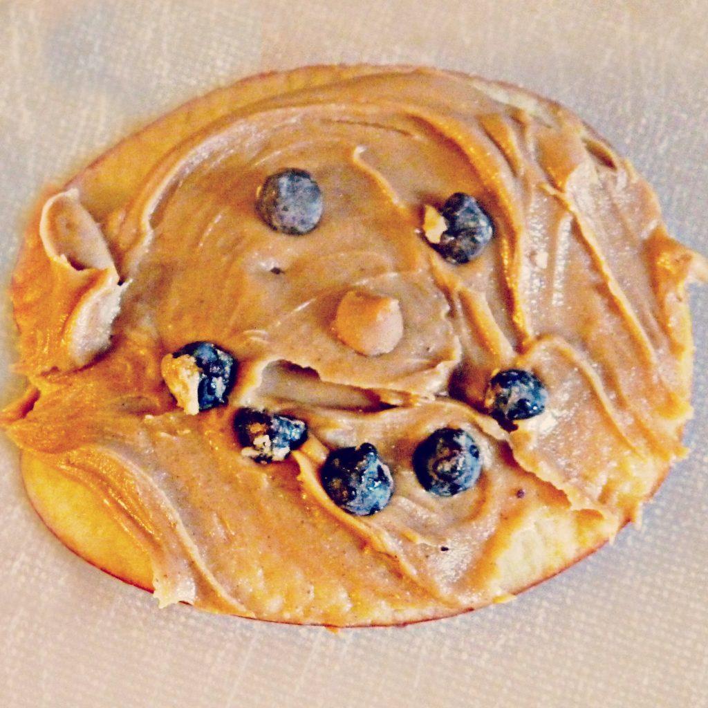 peanut butter happy face apples