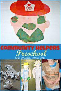 Community Helper Preschool Week