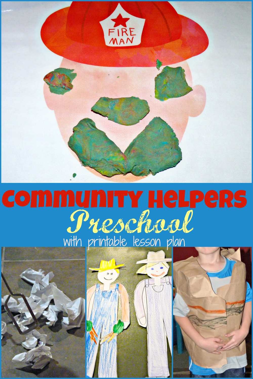 community helper preschool theme