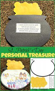 Personal Treasure St. Patrick's Day Craft