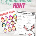 Easter Multiplication Hunt